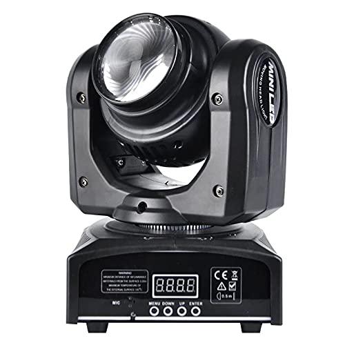 LED DOUBLE FACE MOVING HEAD RBGW + BEAM Effetto Luce DJ Auto Suono Console Testa DMX-512 Canali RGBW 4 Colori LED Luce di Scena