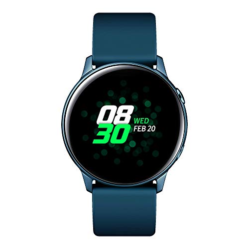 Samsung Galaxy Watch Active Smartwatch Bluetooth v4.2, 40 mm, con GPS, Sensore di Frequenza Cardiaca, Peso 25 g, Batteria 230mAh, Verde (Green) [Versione...
