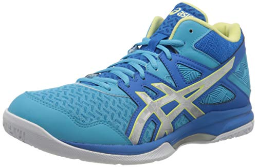 ASICS Womens 1072A037-401_41.5 Volleyball Shoes, Blue, EU