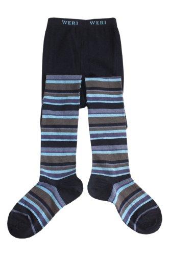 Weri Spezials Panty voor baby's en kinderen, donkerblauw,