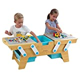 KidKraft Table Building Bricks Play N Store