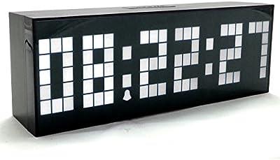 XW-El nuevo LED Reloj Digital Reloj Digital Reloj electrónico calendario luminoso silencio,una