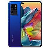 cellulareofferta oukitel c21 android 10.0 4gb+64gb smartphone 6.40 fhd + waterdrop schermo 20mp tripla fotocamera,batteria 4000mah,4g dual sim telefonia mobile cellulari,blu