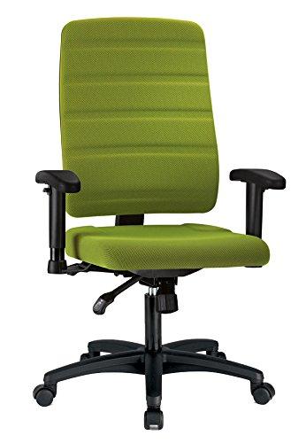Bürostuhl Yourope 4452 grün, mit Armlehnen von Prosedia