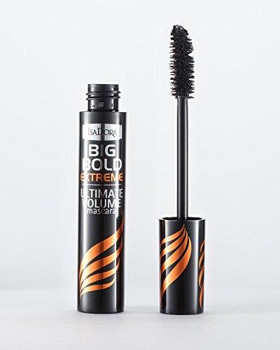 IsaDora Big Bold Extreme Mascara 01 Black, Damen, One Size, Schwarz