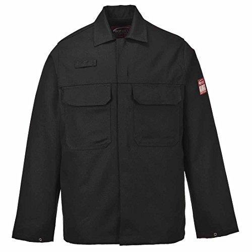 6e93a8e8d102 Portwest Biz2 BizweldTM Flame Resistant Jacket Mens Protective Clothing  Work Coat