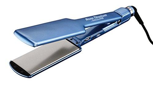 BaBylissPRO BABNT3074T Nano Titanium-Plated Ultra-Thin Straightening Iron, 2 Inch