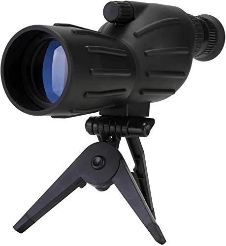 Telescopio monocular, telescopios 40x50, alta potencia, gran aumento, poca luz, monoculares, parasol retráctil para lentes, el telescopio para adultos es adecuado para caminatas, viajes y observación
