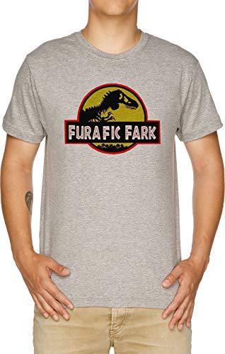 Vendax Furafic Fark Camiseta Hombre Gris