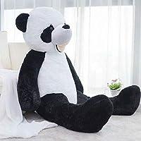 Panda peluche 130 cm animali giocattolo con morbide materiale ipoallergenico di alta qualità CE certificato. Idee regalo per bambini e adulti: peluche, compleanno Abbiamo 3 dimensioni di panda Il peluche è imbottito con schiuma, quindi si trova ed è ...