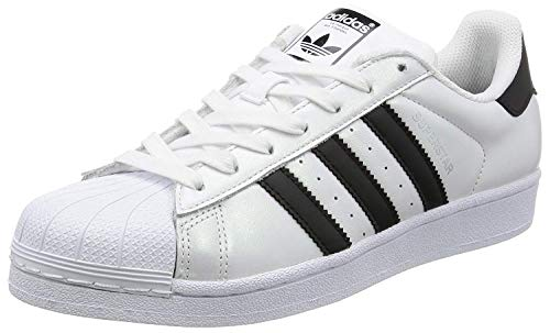 adidas Unisex Adults' Superstar Basket White Size: 13 UK