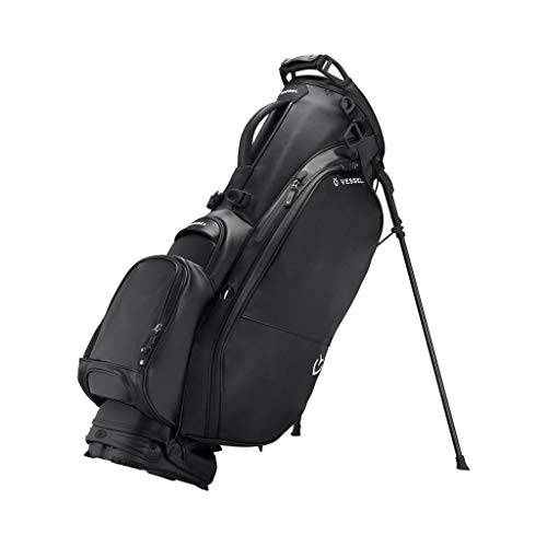 Vessel Player 2.0 Stand Golf Bag Black 14-Way (Black 14-Way)