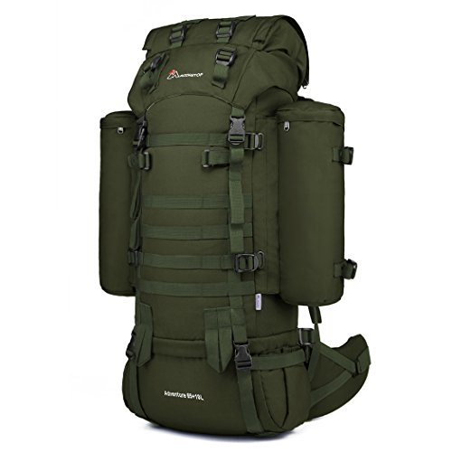 Mardingtop 65+10L Rucksack Taktischer Rucksack Wanderrucksack Trekkingrucksack YKK Zipper mit der großen Kapazität