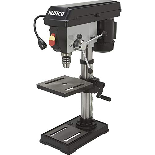 Save %5 Now! Klutch Benchtop Drill Press - 5-Speed, 10in. 1/2 HP, 120V
