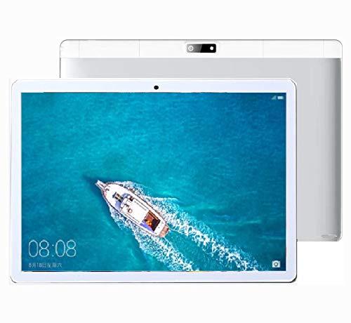 Tablet 10 Pollici con 4G/WiFi, Quad Core,RAM 2GB, ROM 16 GB, Dual SIM Slots+Dual Camera
