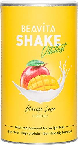 BEAVITA Vitalkost Plus Mango Lassi - 572g Mangolassi Pulver - Der leckere Diät-Shake für unbeschwertes Abnehmen - Ergibt 10 Shakes/Mahlzeitenersatz