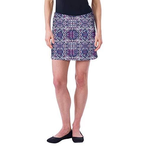 Colorado Clothing Women's Everyday Skort (Blue Tapestry, XX-Large)