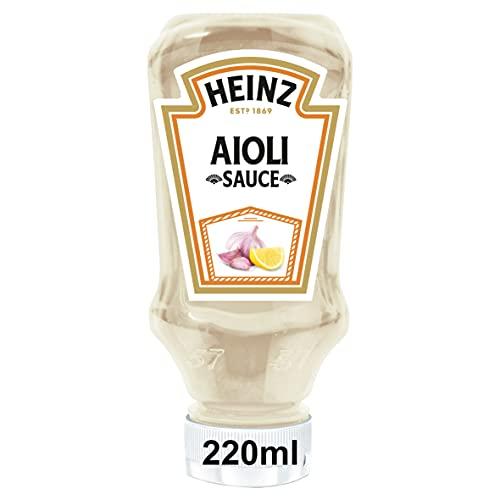 Heinz Salsa Alioli envase 220ml