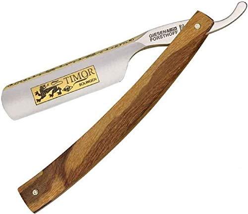 TIMOR de punta redonda, hoja de acero al carbono y madera de Arce