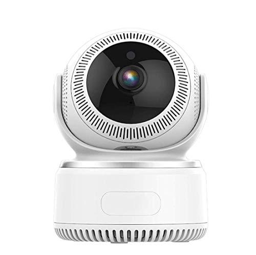 Cámara de Seguridad Full HD 1080P, cámara inalámbrica de la aplicación de teléfono Inteligente for Monitor de Mascotas y bebés, cámara doméstica con aplicación práctica de visión Nocturna