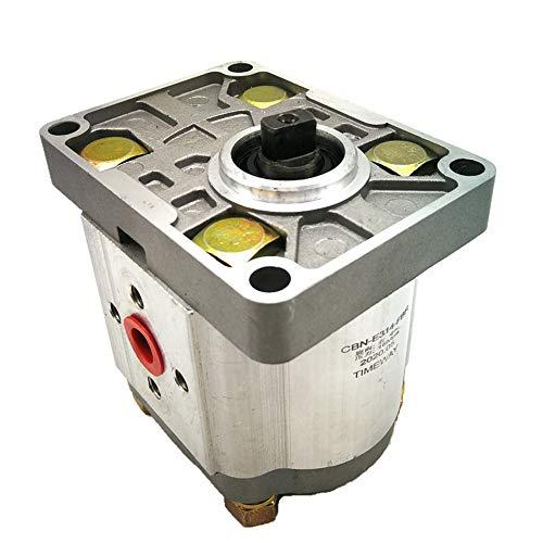 CBN Hydraulic Gear Oil Pump CBN-E312 CBN-E314 CBN-E316 Flat Wedge Shape Shaft High Pressure:16Mpa Aluminium Alloy Body (CBN-E316-FBL)
