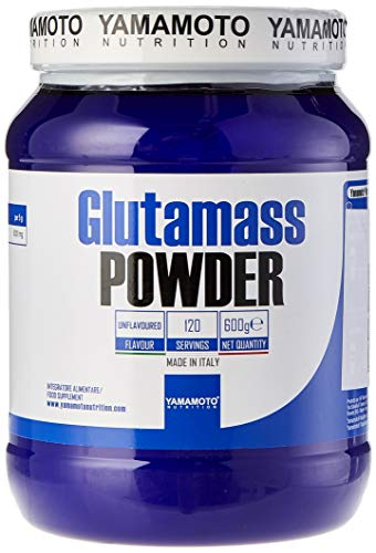 Yamamoto Nutrition Glutamass POWDER Integratore a Base di Purissima L-Glutammina in Polvere - 600 g