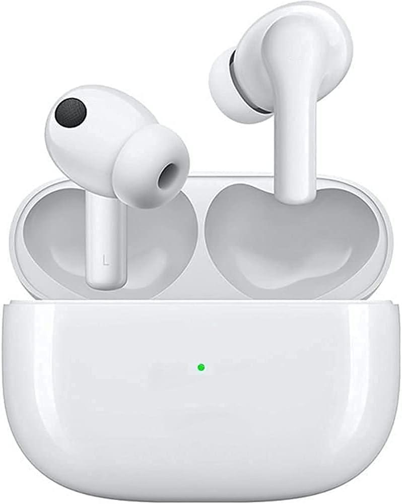 Auriculares Inalámbricos, Auriculares Bluetooth 5.0 HiFi Estéreo, Auriculares Inalambricos Bluetooth con Control Táctil, Micrófono Incorporado, IPX6, para Xiaomi iOS/Android/Samsung