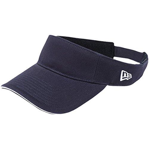 ニューエラ NEW ERA 帽子 SANDWICH サンバイザー ネイビー フリー