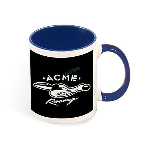 11oz Coffee Mug Acme Racing Funny Tea Coffee Cup Two Tones Mugs Birthday Present