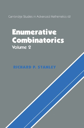 Enumerative Combinatorics: Volume 2 (Cambridge Studies in Advanced Mathematics Book 62) (English Edition)