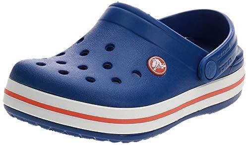 crocs Unisex-Kinder Crocband K Clogs, Blau (Cerulean Blue), 29/30 EU