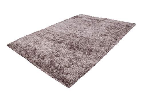 Hoogpolig shaggy tapijt hoogpolig effen verschillende Kleuren modern grijs beige roze taupe
