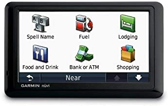 Garmin nuvi 1490/1490T 5-Inch Widescreen Bluetooth Portable GPS Navigator with Lifetime Traffic (Refurbished)