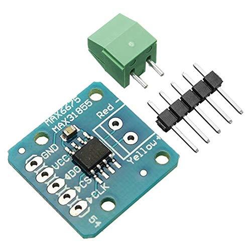 Suzanne Kits de Sensor de Distancia MAX31855 MAX6675 SPI K termopar Sensor de Temperatura de la Placa del módulo 3 Piezas for Arduino