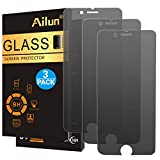 Ailun Privacy Screen Protector Compatible with iPhone 8 7 Anti Spy 3 Pack Tempered Glass