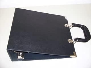 catalog binder with handles
