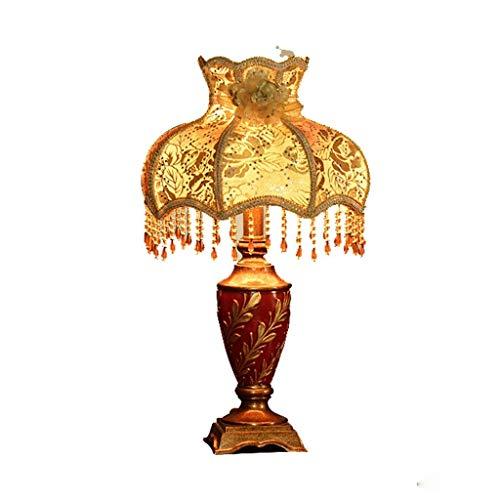 Fotingstarcase Lámparas de Mesa, Personalidad Simple Pastoral de la Personalidad Creativa lámpara de cabecera, Dormitorio de la lámpara, lámpara Decorativa, luz de Lectura Noche