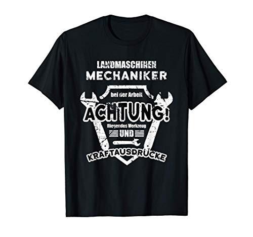 Landmaschinen Mechaniker | Werkzeug & Kraftausdrücke | Bauer T-Shirt