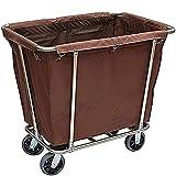 GFDGDS Bolsas extraíbles con Canasta de lavandería Carro de lavandería con...