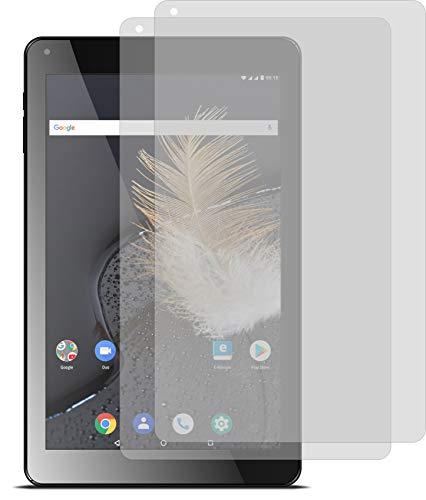 4ProTec I 2X ANTIREFLEX matt Schutzfolie für Odys Titan 10 LTE Bildschirmschutzfolie Displayschutzfolie Schutzhülle Bildschirmschutz Bildschirmfolie Folie
