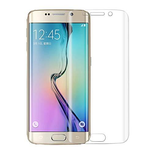 Hgf LCD-Schutzfolie, 0,1 mm, explosionssicher, weiches TPU, vollständiger Bildschirmschutz für Galaxy S6 Edge LCD-Display