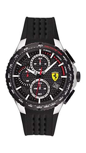 Scuderia Ferrari Reloj Analógico para Hombre de Cuarzo con Correa en Silicona 0830732