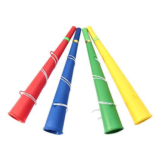 Rtengtunn Fußballspiele Fan Cheer Party Horn Vuvuzela Kindertrompete Spielzeug Musikinstrumente