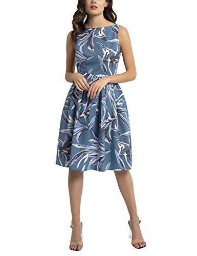 APART Damen Sommerkleid mit separatem Bindegürtel