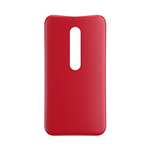 Motorola Original Shell Austauschbare Rückseite für Moto G3 - Kirschrot