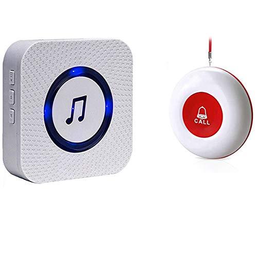 Botón de Llamada Emergencia Inalámbrica/Sistema de Alarma Hogar/Buscapersonas del Cuidador para el Paciente Personal de Edad