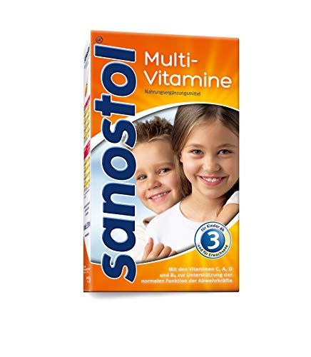Sanostol Multi-Vitamine: Für Kinder ab 3 Jahren und Erwachsene, unterstützt ein gesundes Immunsystem mit den Vitaminen A und D, 460ml