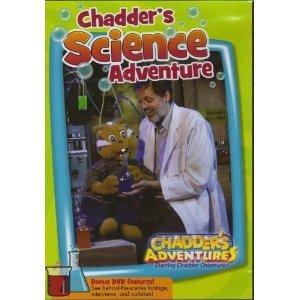 DVD Chadders Science Adventure Dvd Book
