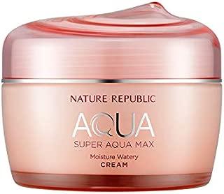 Nature Republic Super Aqua Max Moisture Watery Cream 80 ml / 2.70 fl. oz.