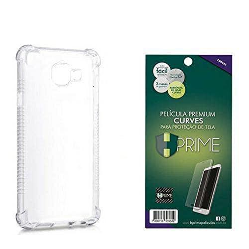 Kit Pelicula Curves Pro + Capa transparente TPU para Samsung Galaxy S8 Plus, HPrime, Película Protetora de Tela para Celular, Transparente